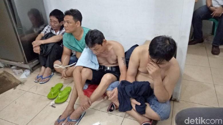 87 Penjudi Ditangkap Polisi di Sawah Besar Jakarta Pusat