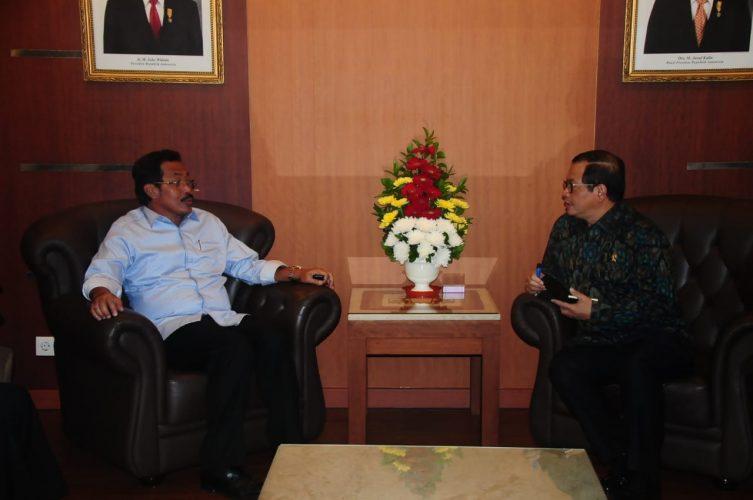 Nurdin Jemput Jokowi ke Bintan dan Tanjungpinang,Temui Seskab Penajaman Hasil Pertemuan dengan Presiden