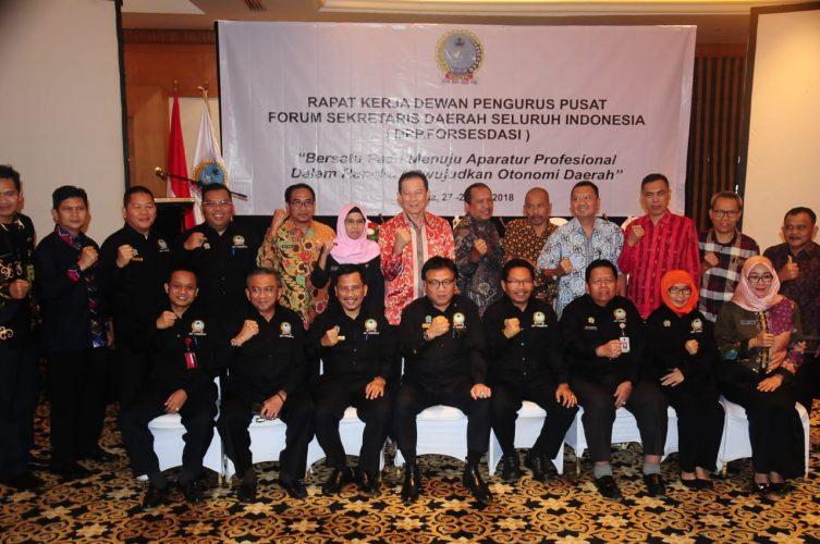 Sekdaprov Kepri,Arif Fadillah : Dorong Pengesahan RUU Daerah Kepulauan