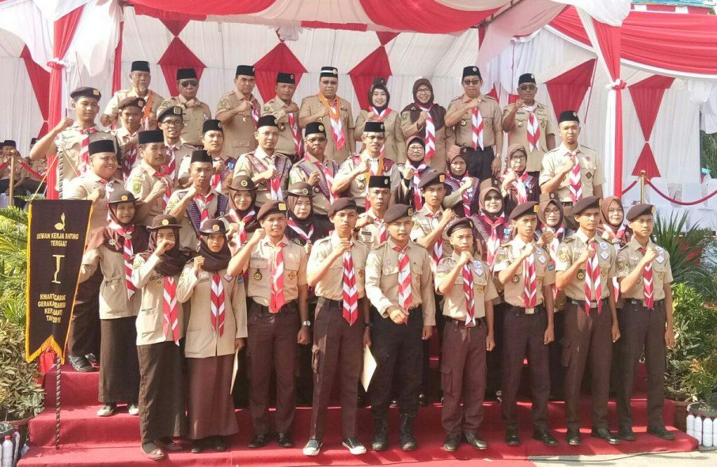 Bupati Meranti,H.Irwan : Gerakan Pramuka Wadah Mendidik Karakter Kaum Muda
