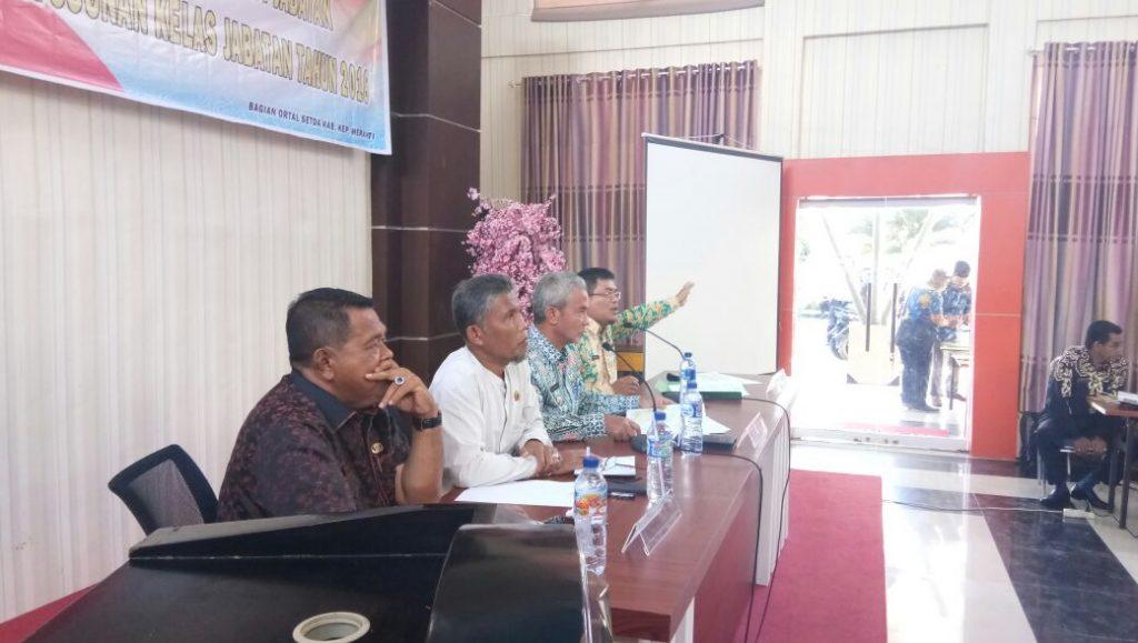 H.Said Hasyim Pimpin Rapat Lanjutan Penyelesaian Penguasaan Tanah Dalam Kawasan Hutan