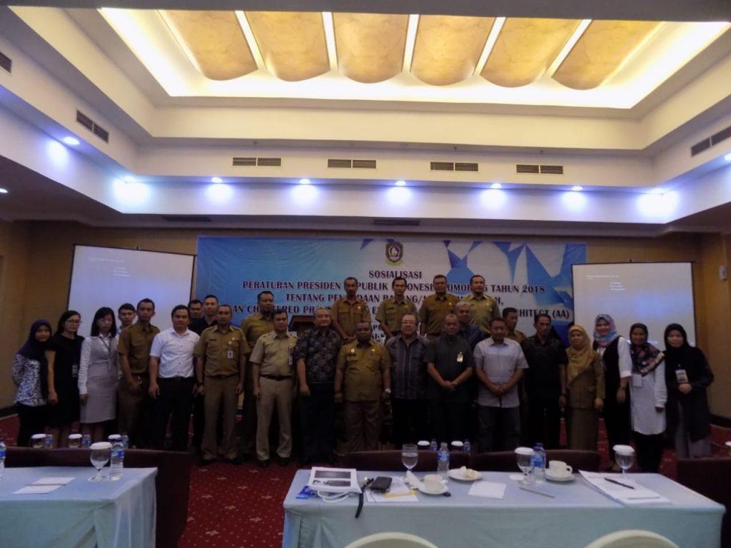 Dinas PUPP Provinsi Kepri Gelar Sosialisasi Perpres Nomor 16 Tahun 2018,ACPE dan AA