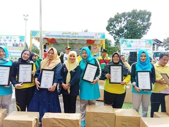 HKN 2018, Puskesmas Ratu Borong Piagam Penghargaan atas Prestasi Pelayanan Kesehatan