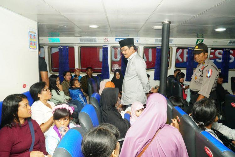 Gubernur Kepri,H.Nurdin Basirun Cek Kelengkapan Keselamatan Menyambut Libur Akhir Tahun