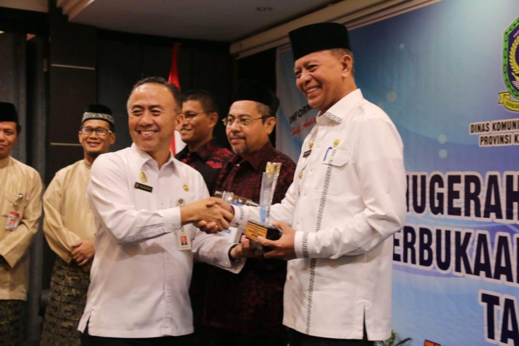 Pemko Tanjungpinang Terima Penghargaan KIP