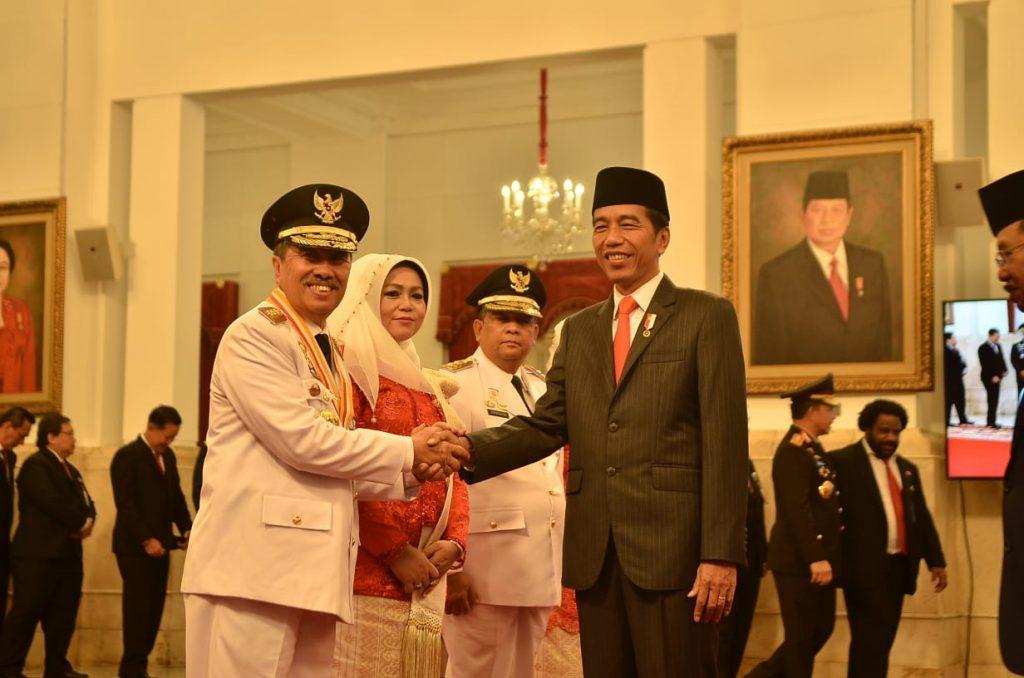 Syamsuar-Edi Resmi dilantik, Asisten II Setdakab Meranti : Masyarakat Meranti turut Berbahagia Karena Gubernur Riau Pejabat Pertama Meranti