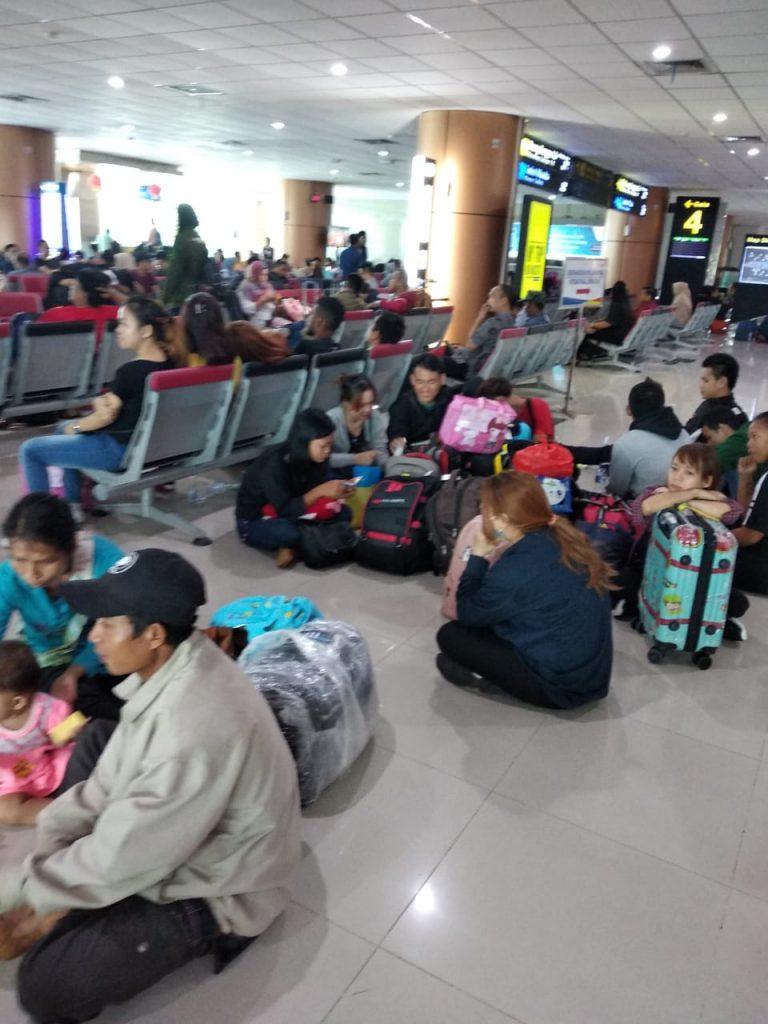 Penumpang Lelah : Insiden Pesawat Lion Air JT-714 Rute Jakarta-Pontianak,Belum Ada Maskapai Yang Berani Take Off