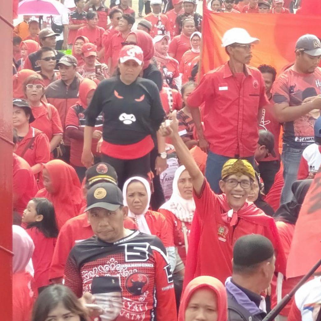 Sekjen PDIP Ungkap,Kampanye Perdana di Kota Tangerang Karena Ini Kota  Kelahiran Wapres Ma'ruf Amin