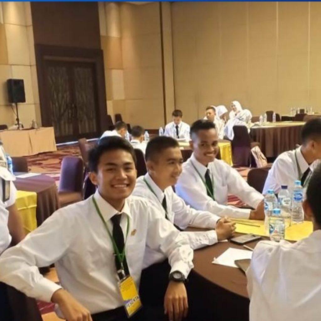 Zahid Azmi Pelajar SMAS Duri Menjadi Duta Provinsi Riau