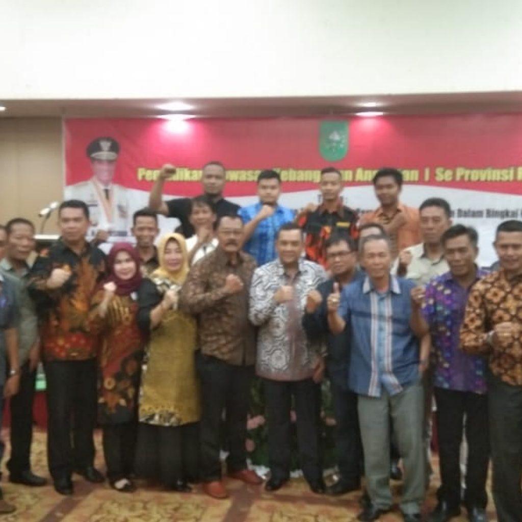 Hadiri Pendidikan Wawasan Kebangsaan Angkatan I Se-Prov Riau, ini kata Kakan Kesbangpol Meranti