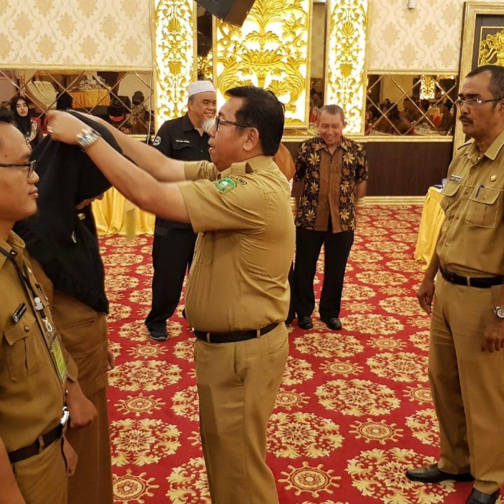 Raih Level Tertinggi di Indonesia, ULP Meranti Gelar Diklat dan Ujian Sertifikasi Pengadaan Barang dan Jasa Pemerintah Tahun 2019