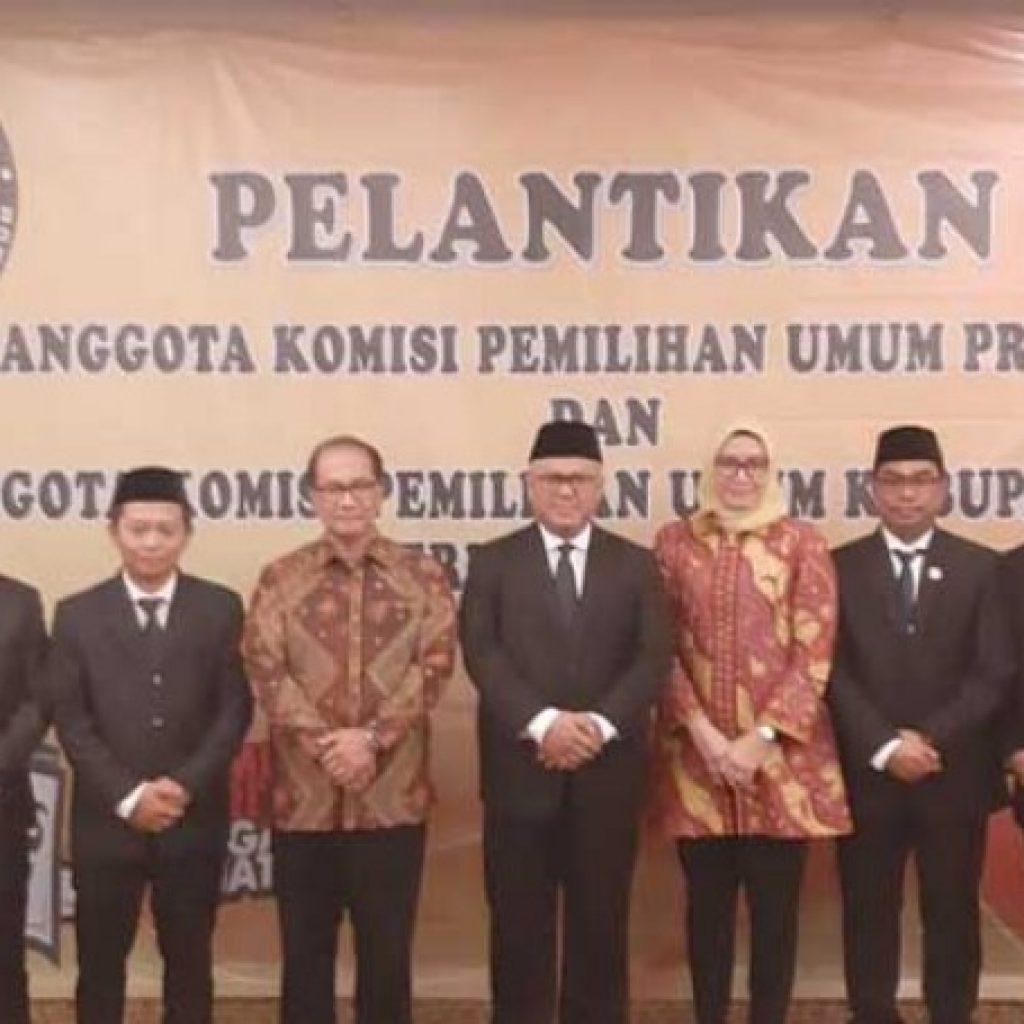 KPU Riau Resmi Ambil Alih Tugas KPU Kepulauan Meranti