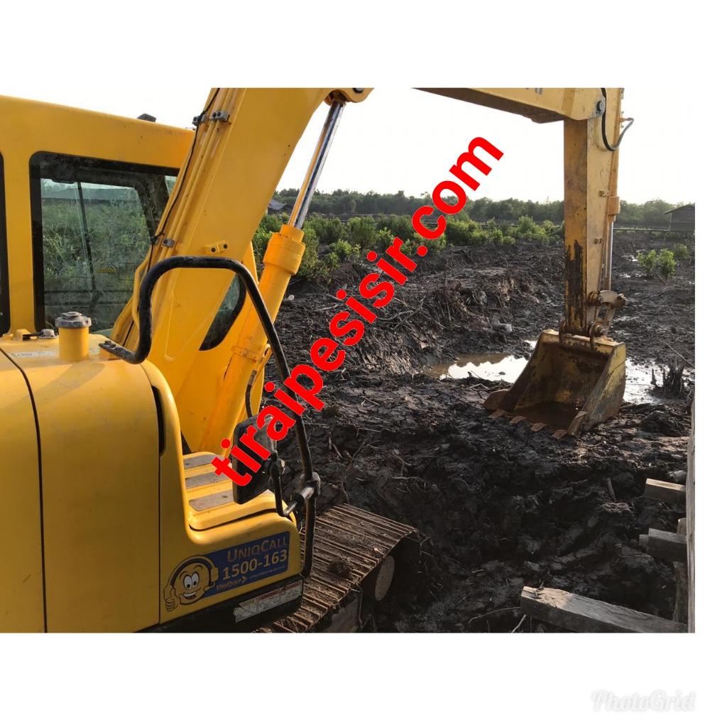 Terkait Excavator Milik Negara Diduga Dikomersilkan Kades Tanjung Peranap,Kades Topang Diperiksa Kejari Meranti