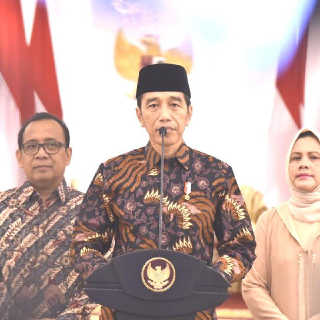 Presiden Jokowi Sampaikan Belasungkawa,Ajak Rakyat Indonesia Do'akan Almarhumah Ibu Ani Yudhoyono