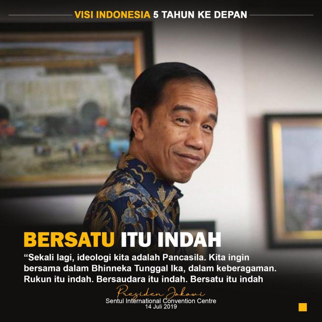 Visi Indonesia,Jokowi Ancam Copot Pejabat dan Bubarkan Lembaga Penghambat