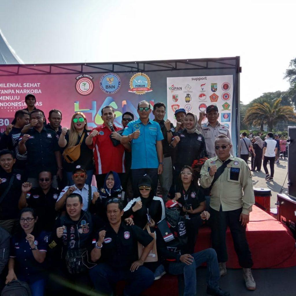 Peringati Hari Anti Narkoba Internasional 2019,Bakornas GMDM,BNN dan FOKAN Gelar Kampanye Milenial Sehat Tanpa Narkoba Menuju Indonesia Emas
