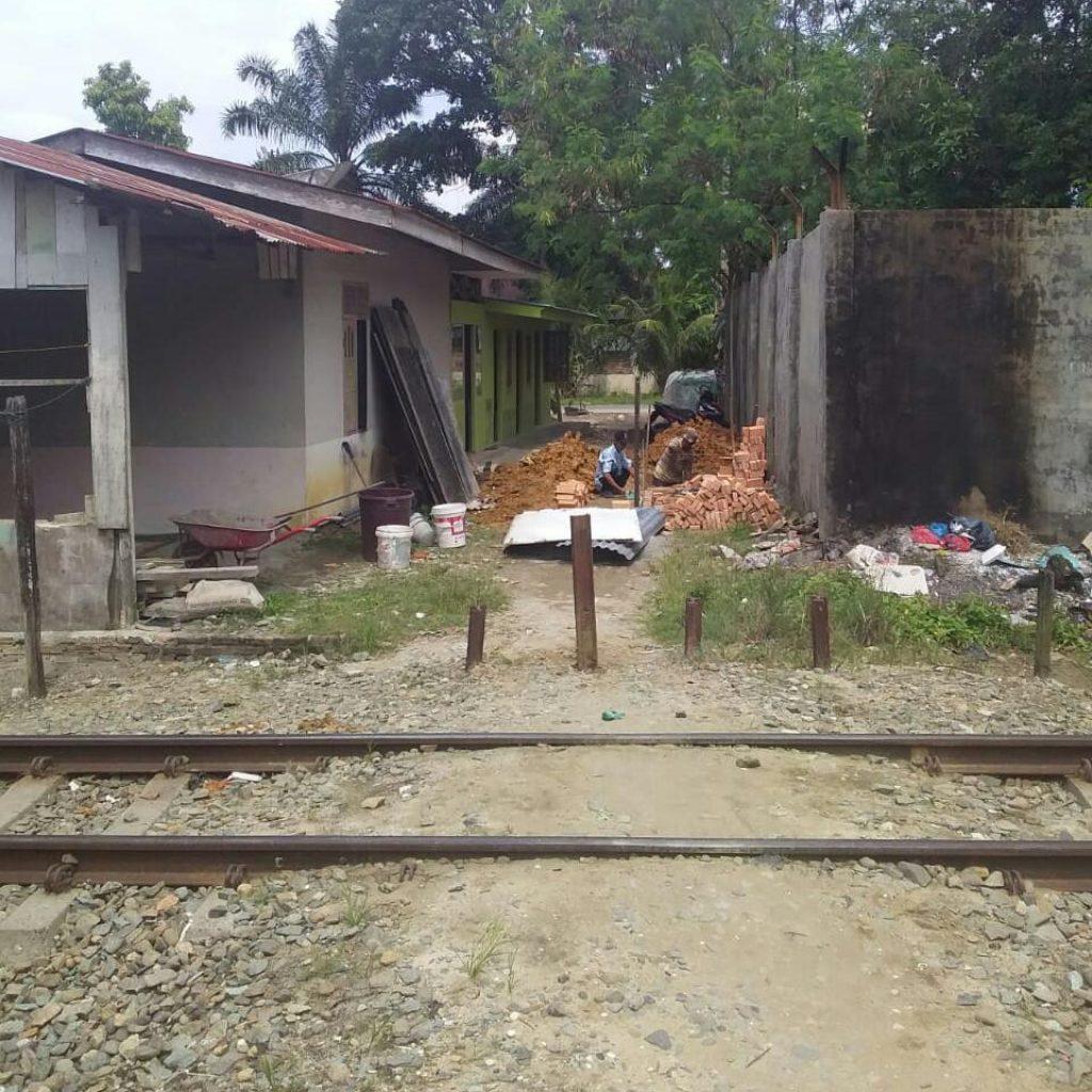 Penutupan Akses Jalan,Resahkan Warga Padang Matinggi Rantauprapat