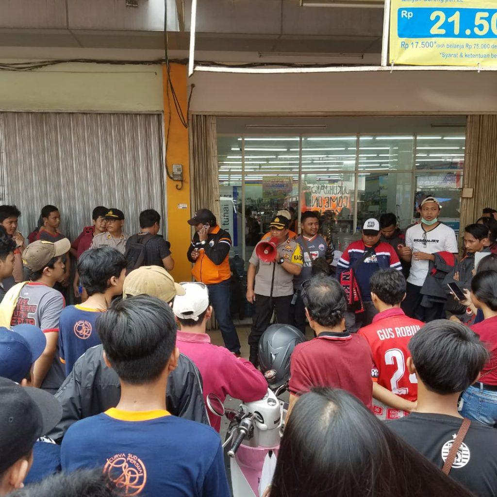 Antisipasi Dan Pengamanan Keberangkatan Suporter Jack Mania Ke GBK
