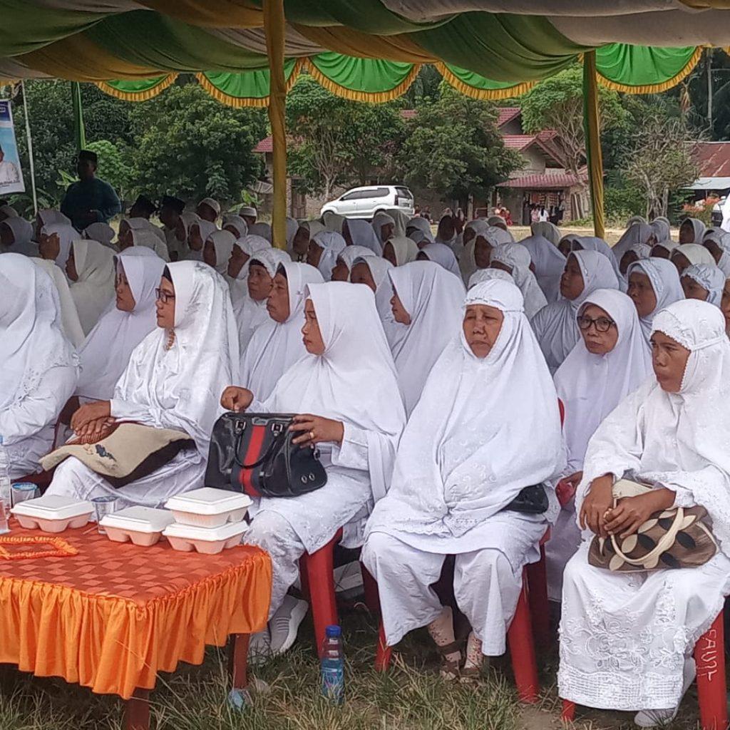 Ketua PB IKLAS,Rivai Nasution Tepung Tawari Calon Jama'ah Haji se Kabupaten Labuhanbatu Selatan