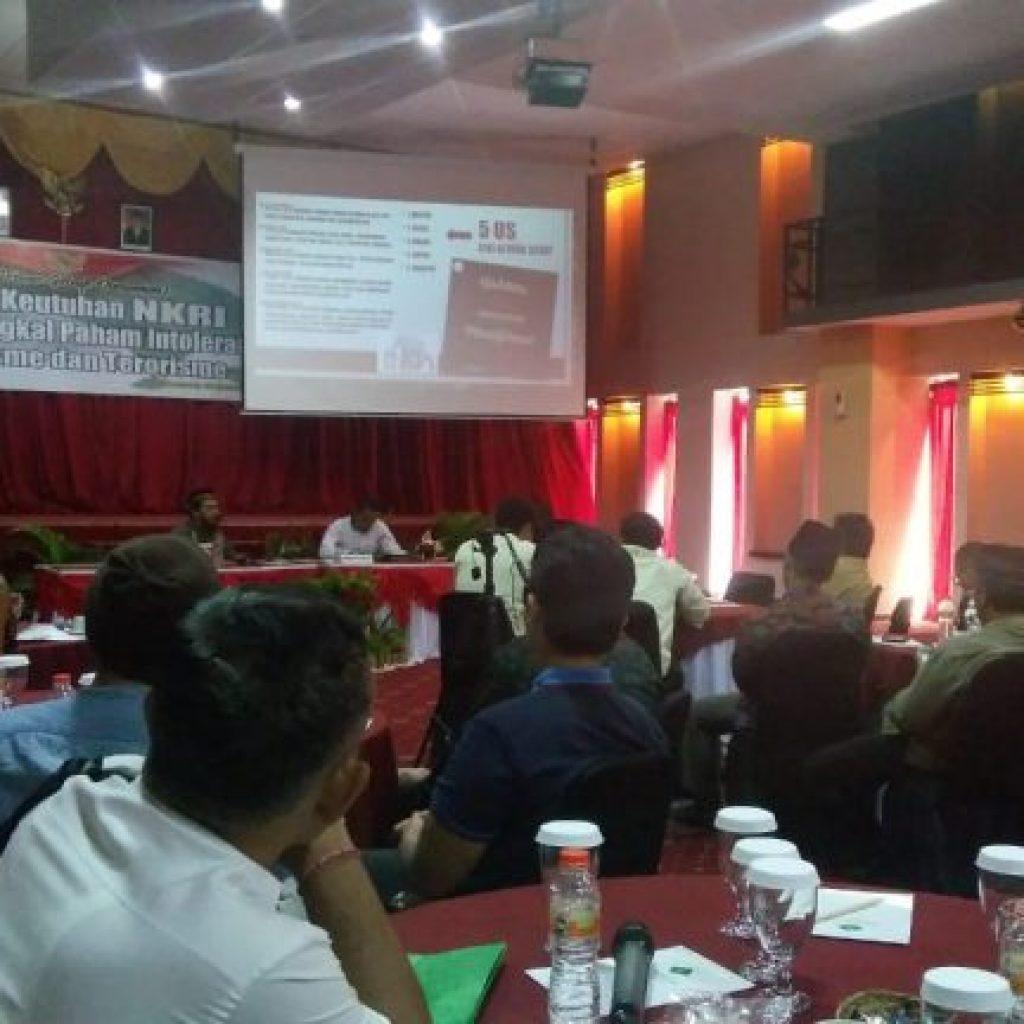 FGD Tolak Radikalisme,Intoleransi dan Terorisme,Polda Bali Ajak Mantan Panglima NII