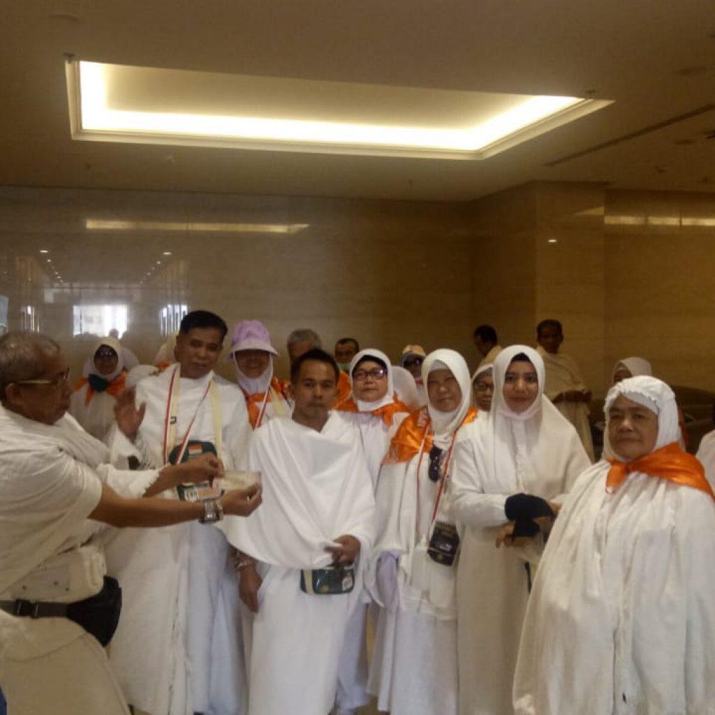 Jemaah Calon Haji Meranti Bertolak ke Arafah