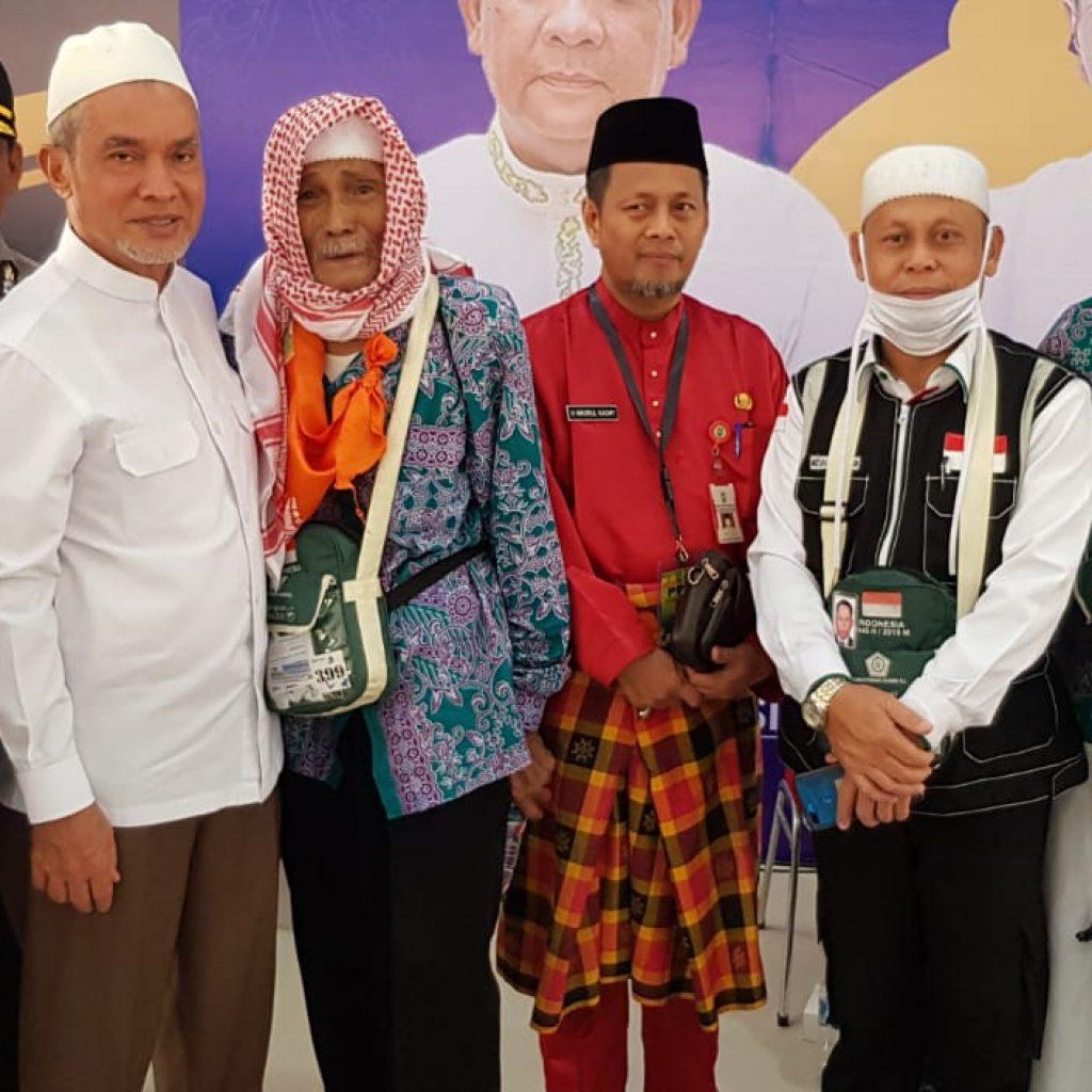 Alhamdullilah.. Sudah Di Pekanbaru,Sore Nanti Sebanyak 192 Jemaah Akan Sampai Ke Selatpanjang