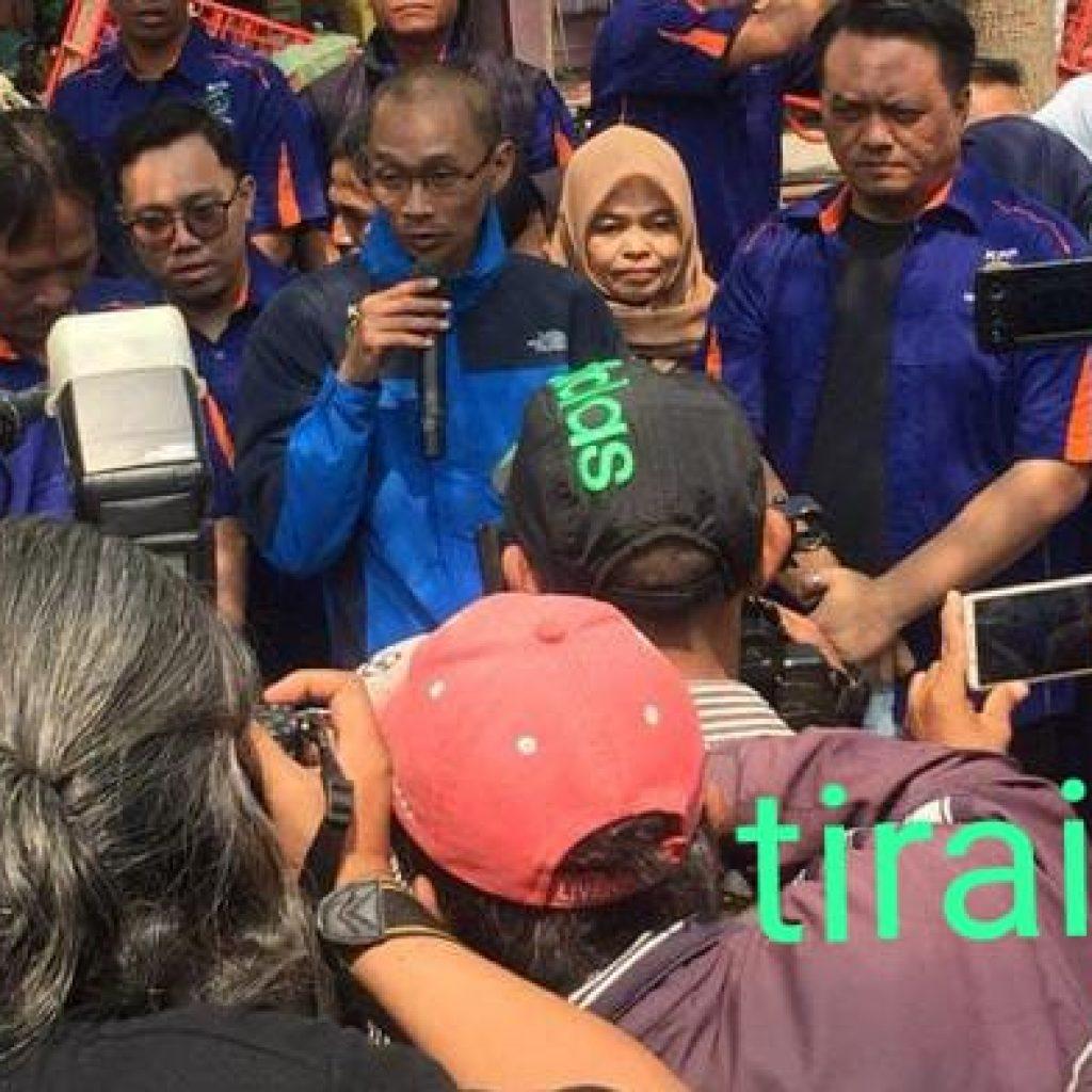 Rosyid Arsyad : 17 Agustus Lapangan Banteng Akan Jadi Sejarah Terwujud Keinginan Jokowi Launching Aplikasi Online Kepasar