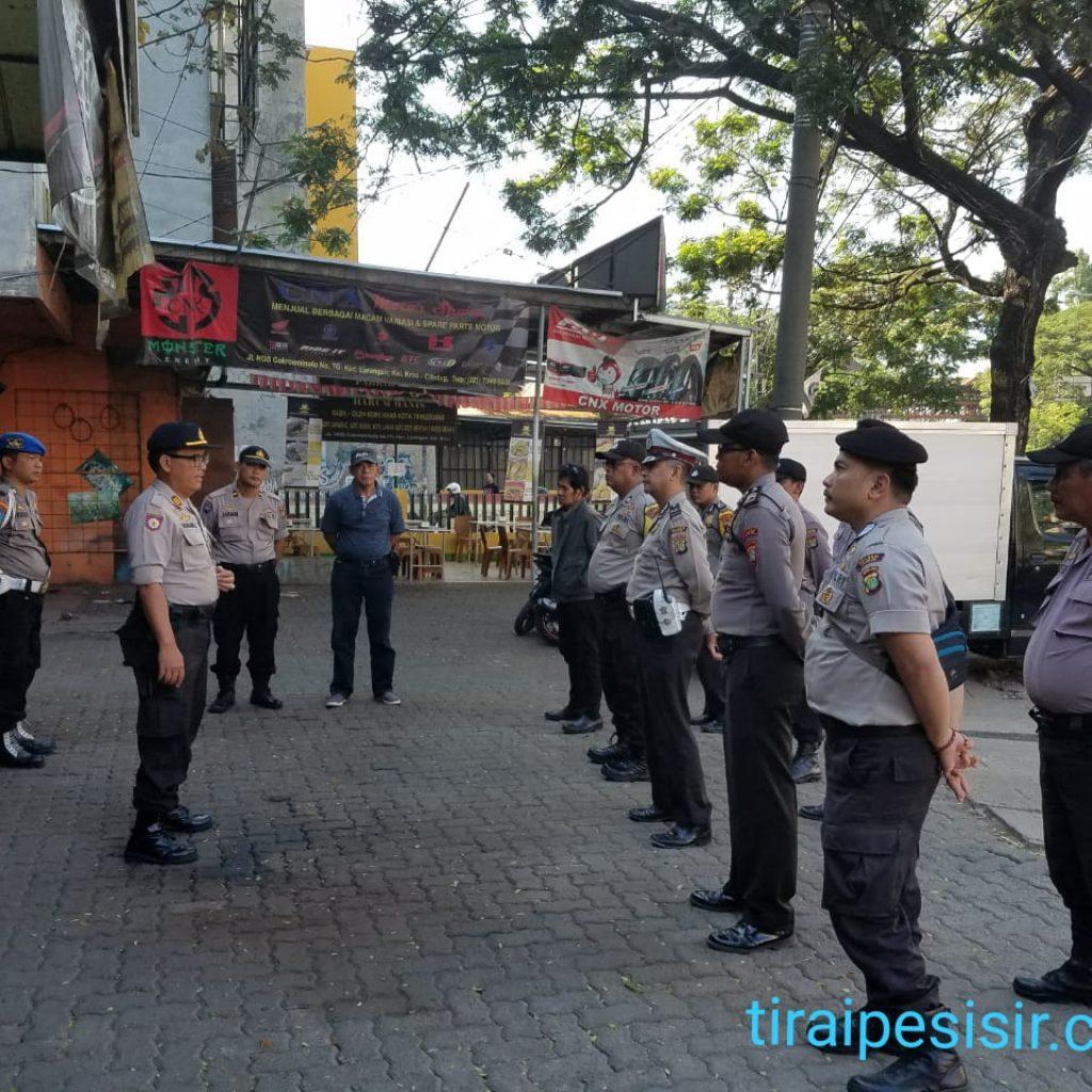 Kepolisian Resort Ciledug Gelar Pengamanan Unras Di Daerah Kreo Kec.larangan