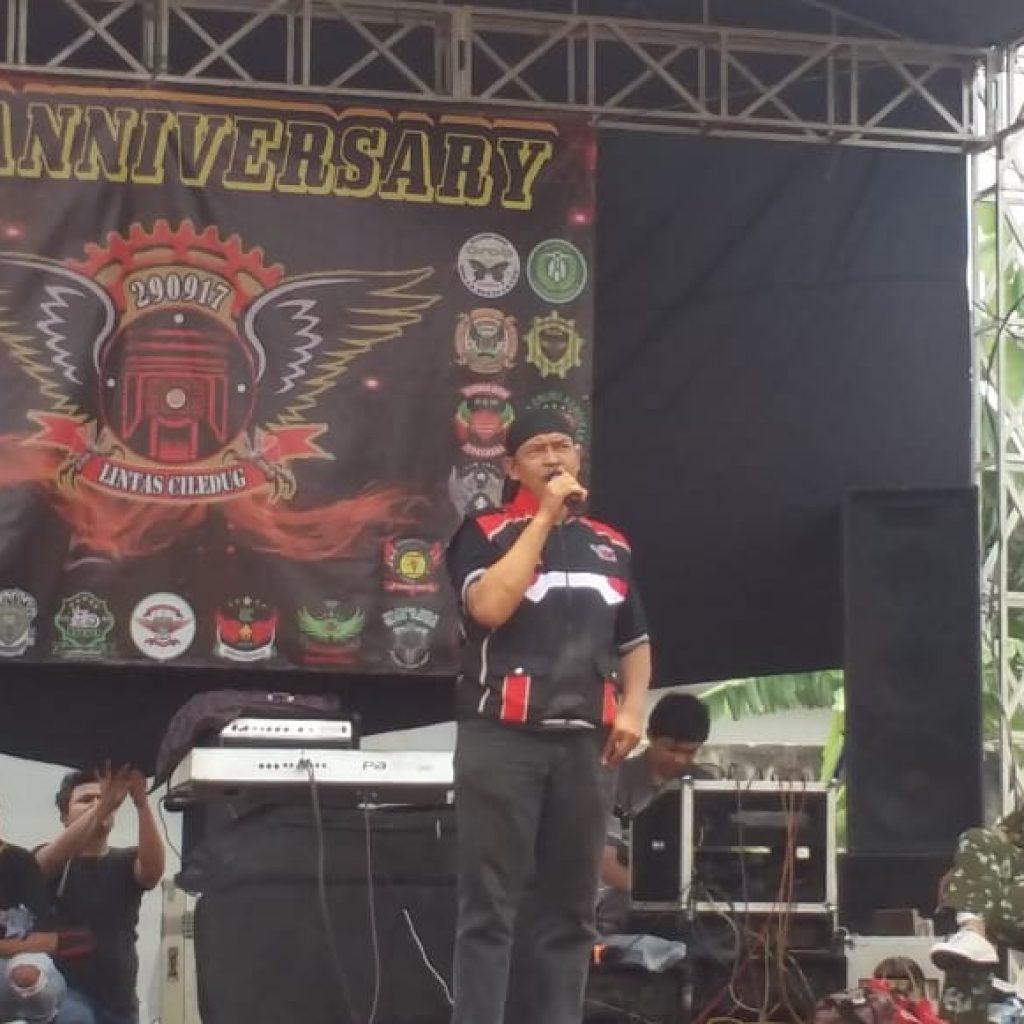 Gelar Hari Jadinya yang Kedua,Komunitas Ojol Lintas Cileduk Hijaukan Lapangan Bola Garuda Larangan Utara Tangerang