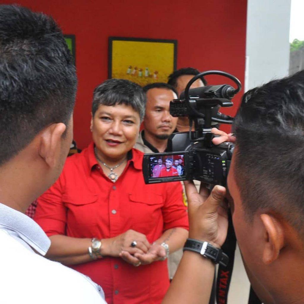 Anggota DPR RI Komisi IX Ribka Tjiptaning Ajak Semua Pihak Atasi Dampak Karhutla