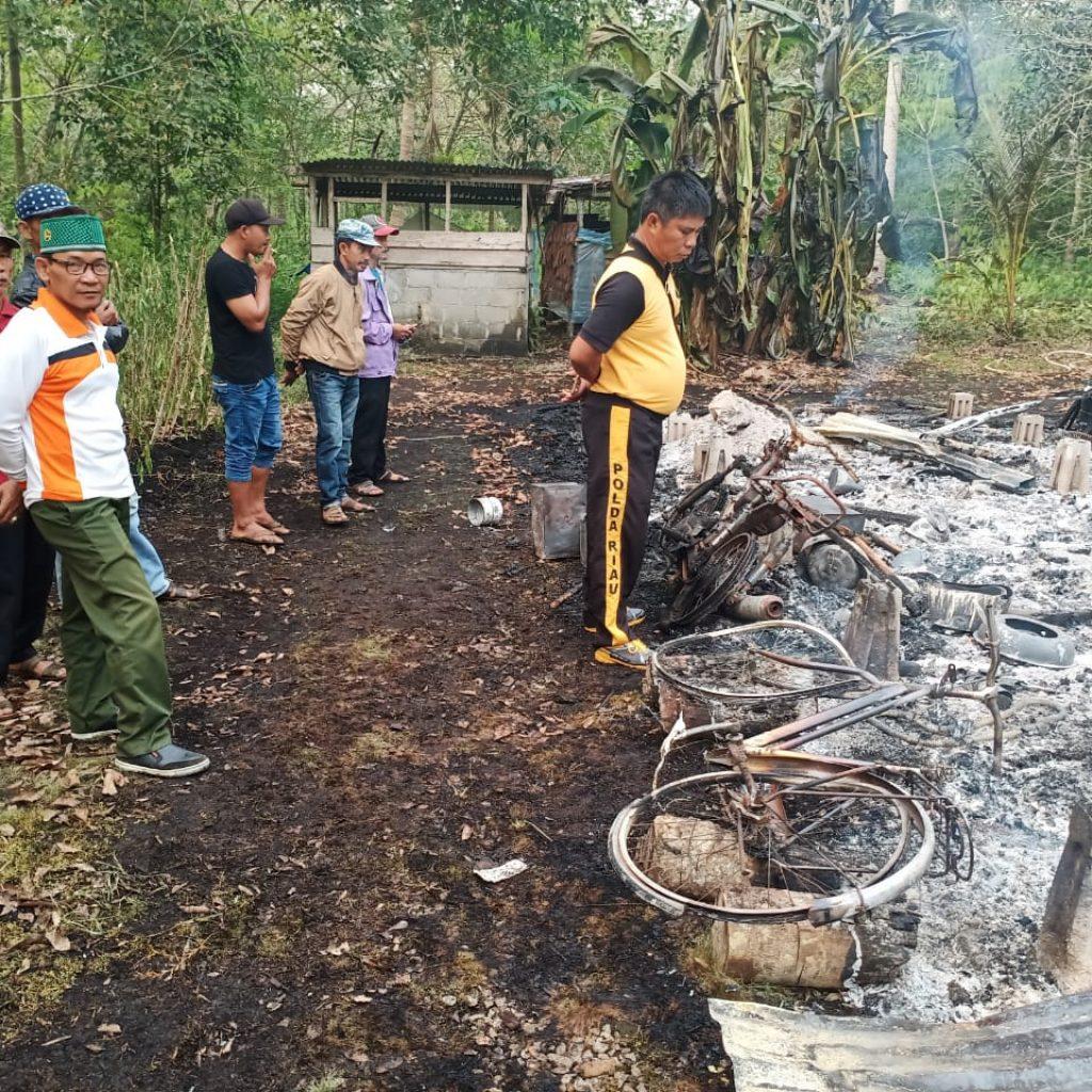 Rumah Warga Desa Bokor Ludes di Lalap Si Jago Merah