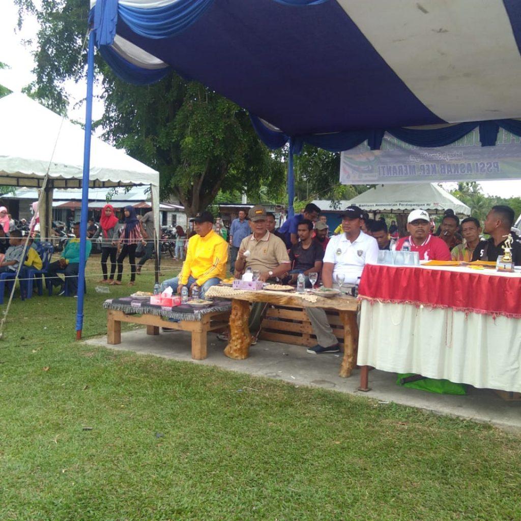 Buka Open Turnamen Honor Cup 2019,Sekda Meranti Harapkan Peserta Tetap Jaga Sportifitas dan Fair Play