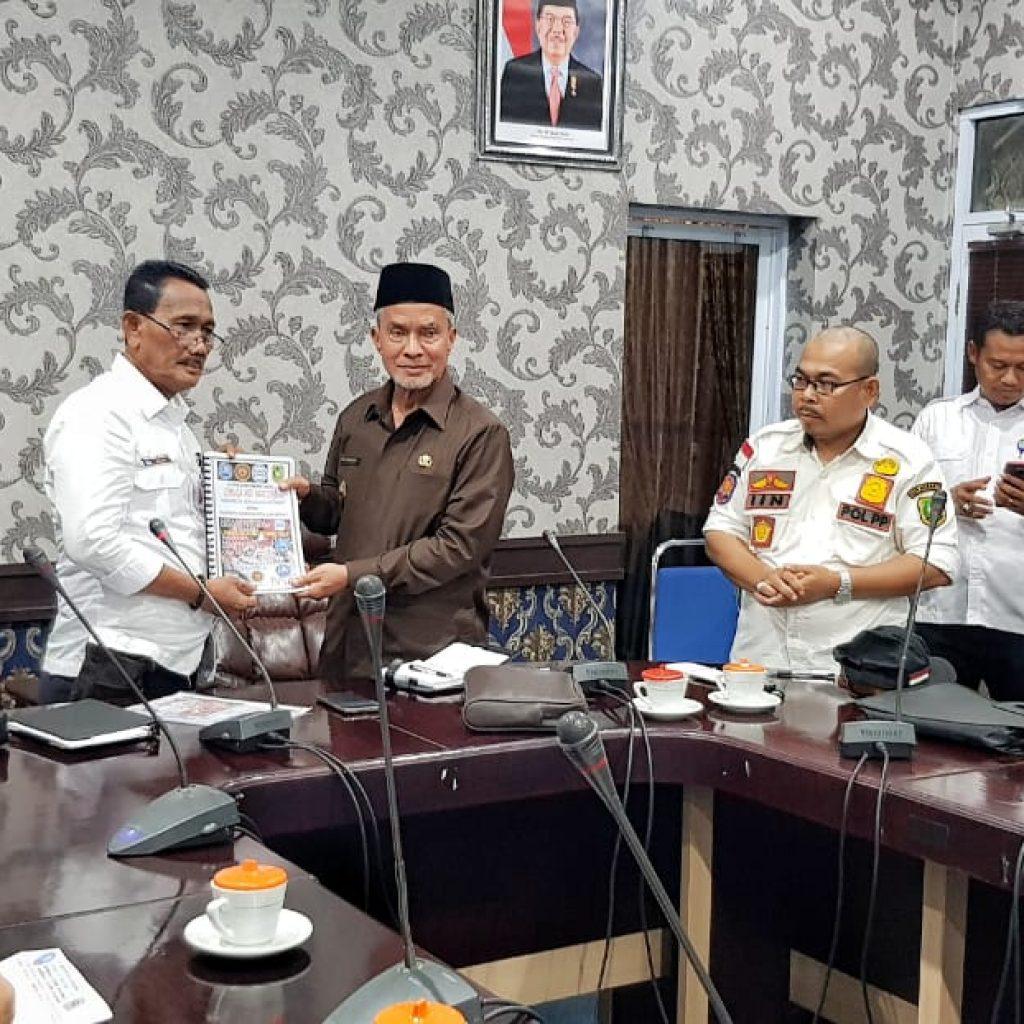 DPC LAN Meranti Silahturahmi Bersama Pemkab Meranti