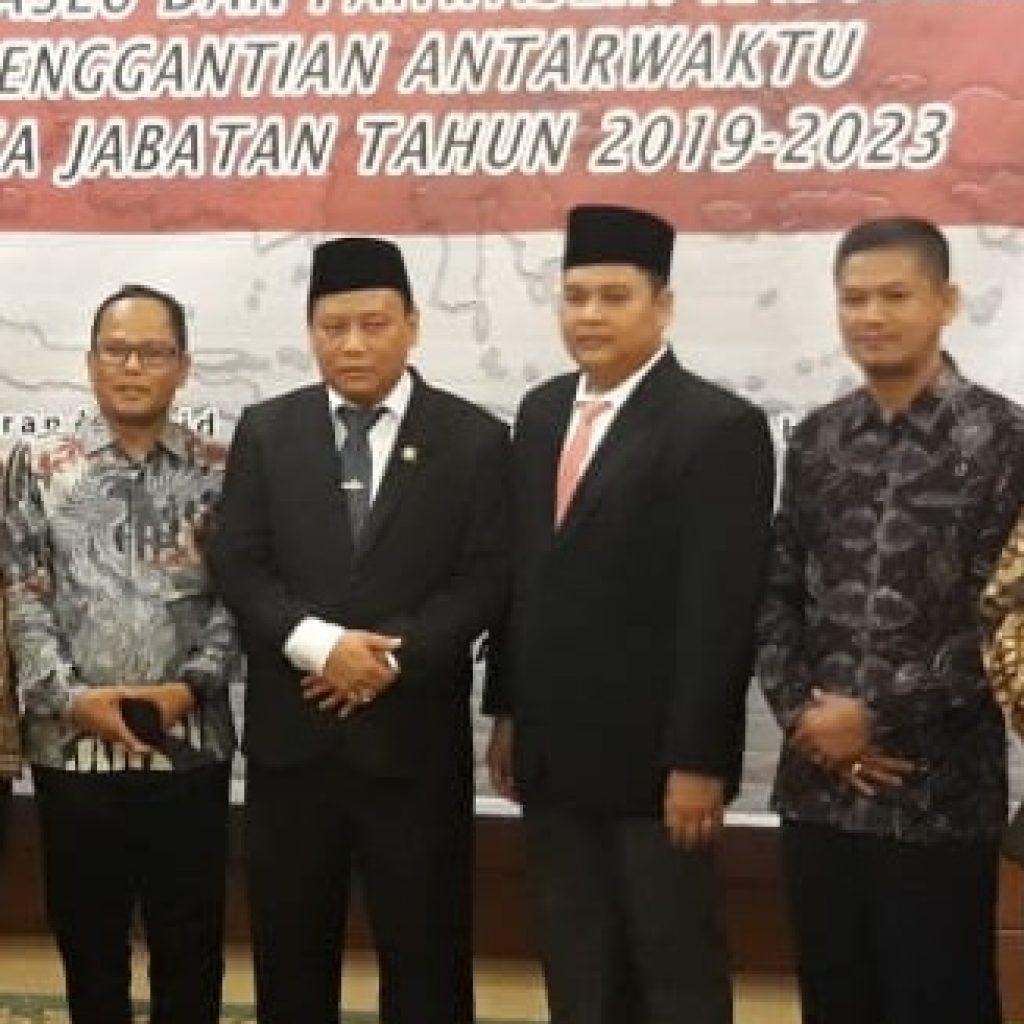Rony Fitrian Dilantik Bawaslu RI menjadi Anggota Bawaslu Inhu PAW