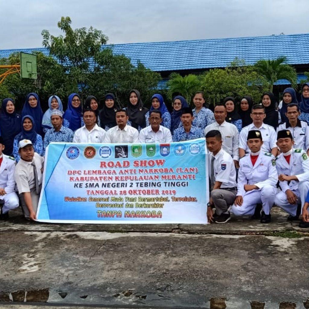 LAN Kepulauan Meranti Roadshow ke SMA Negeri 2 Tebing Tinggi