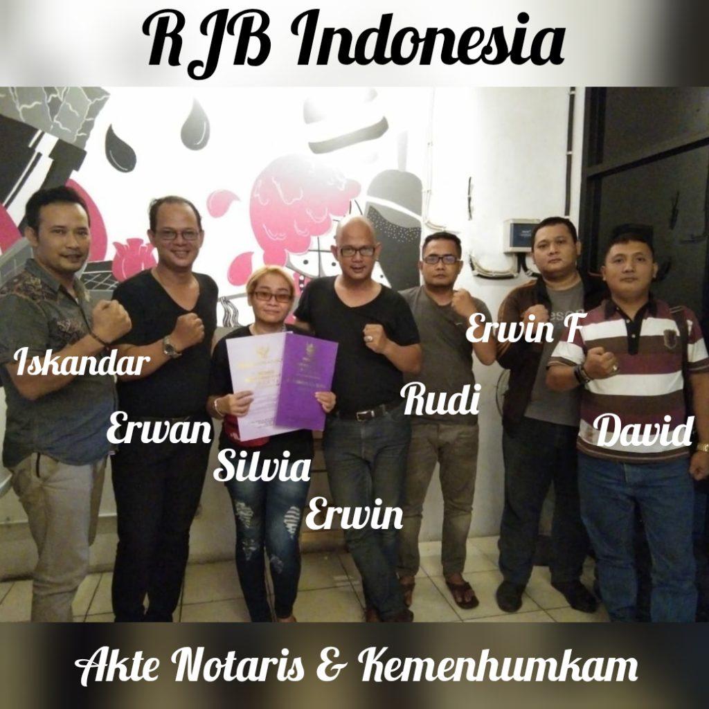 RJB Indonesia,Sah Menjadi Perkumpulan Berbadan Hukum