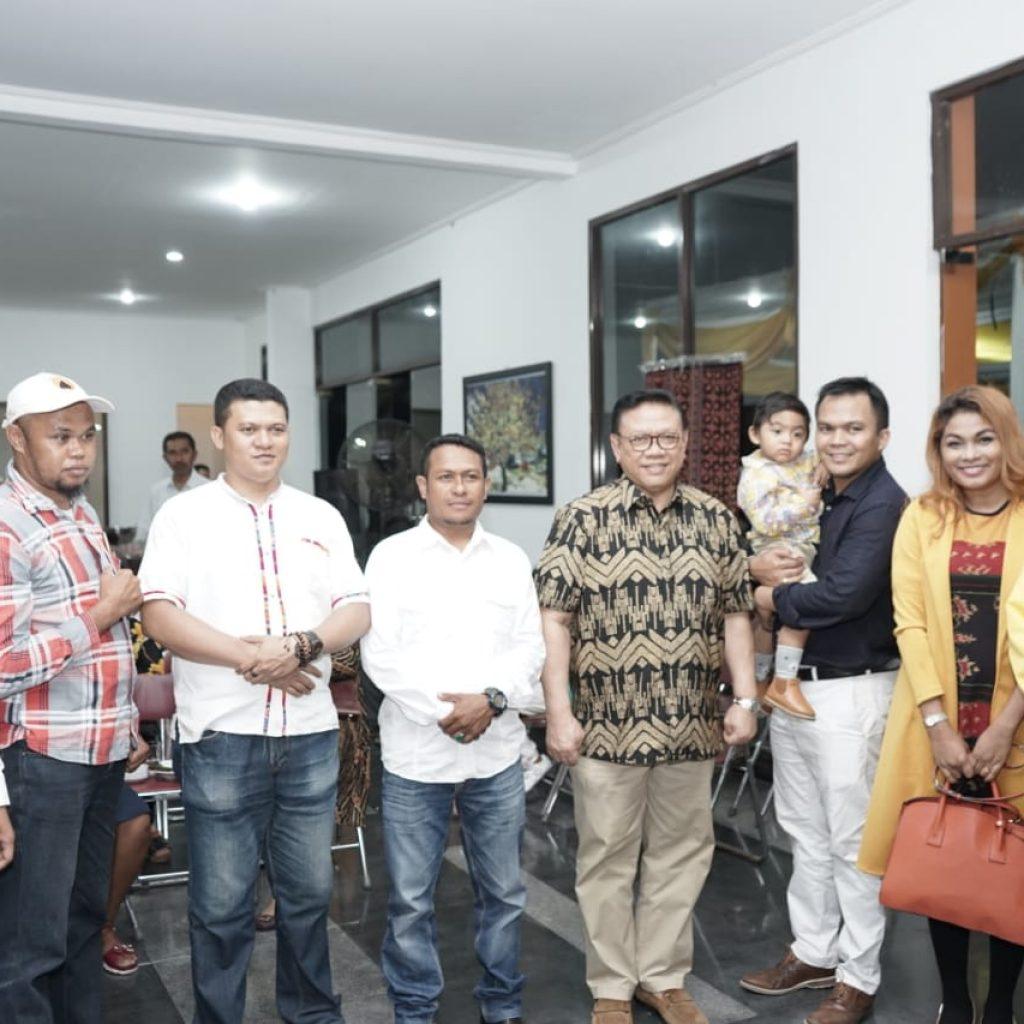 IKBA Jakarta menghadiri Doa ucapan syukur Melky Laka Lena Sebagi anggota DPR RI