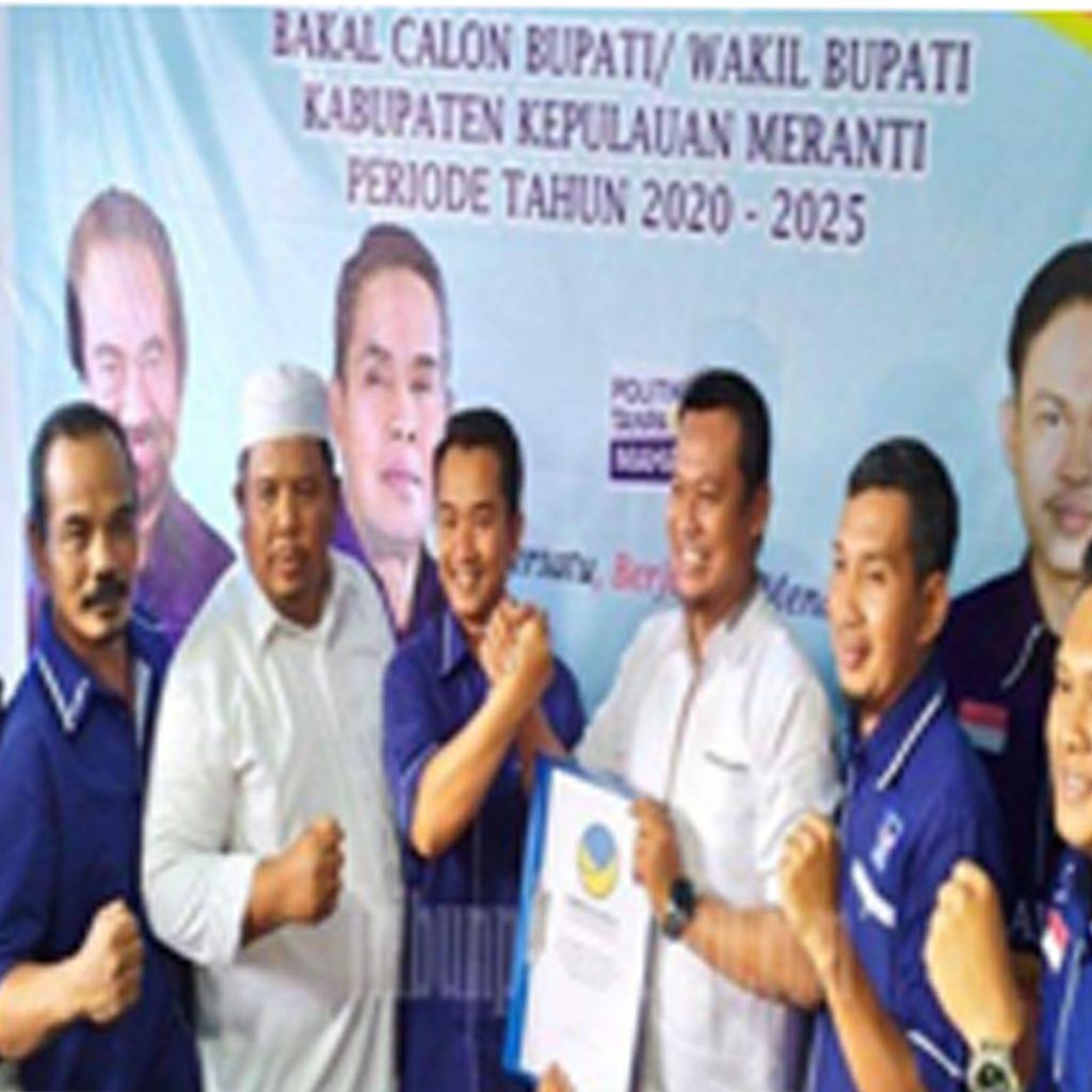 Said Hasyim-Hery Saputra Balon Bupati-Balon Wakil Bupati Pada Pilkada Serentak Meranti 2020 Dapat Dukungan Dari Para Tokoh di Meranti