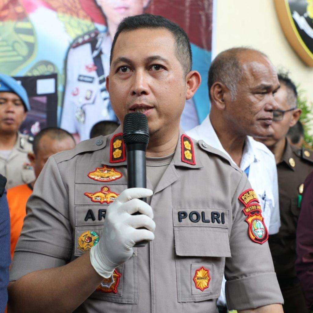 Polresta Bandara Soetta Musnahkan Barang Bukti Narkotika Jenis Shabu