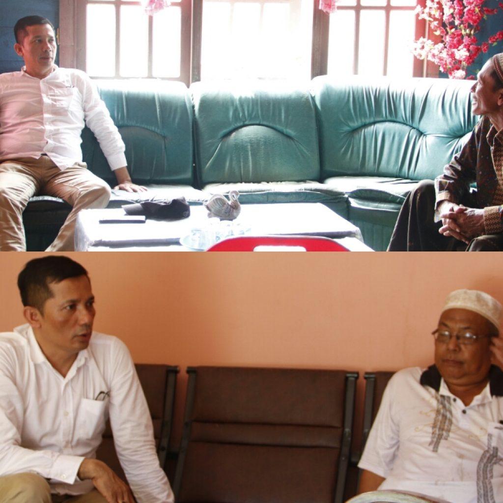 Maju di Pilkada Meranti 2020, H. M. Adil Minta Restu Sesepuh di Rangsang