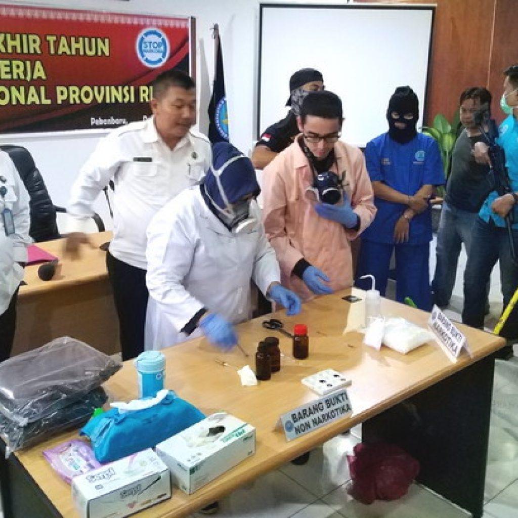 BNN Riau Amankan 112,5 Kg Shabu