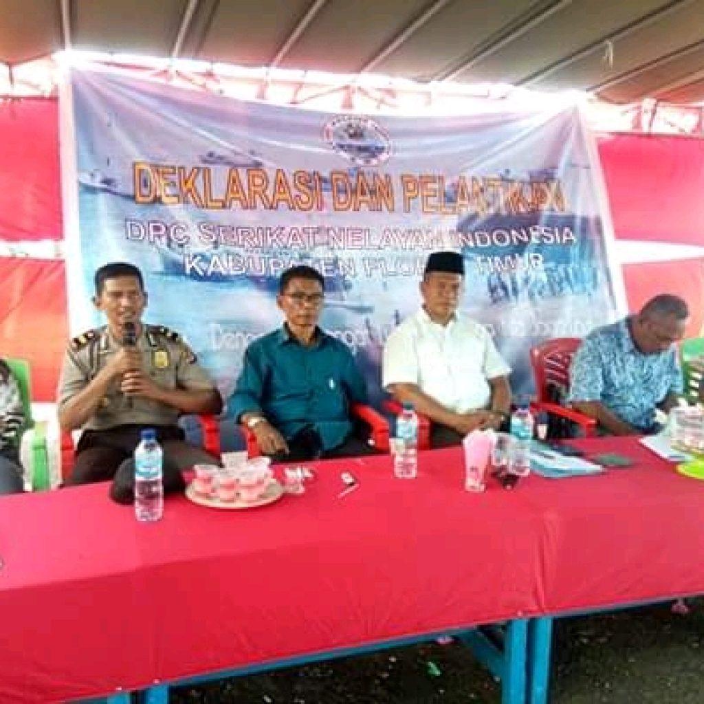 Nelayan Deklarasi SNI Cabang Flores Timur