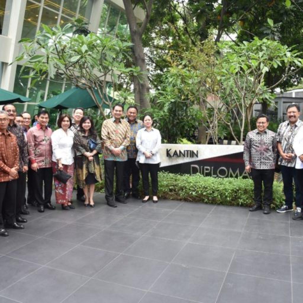 DPR RI Adakan Studi Banding Kelàyakan ke Kantin Diplomasi Pejambon Kementerian Luar Negeri