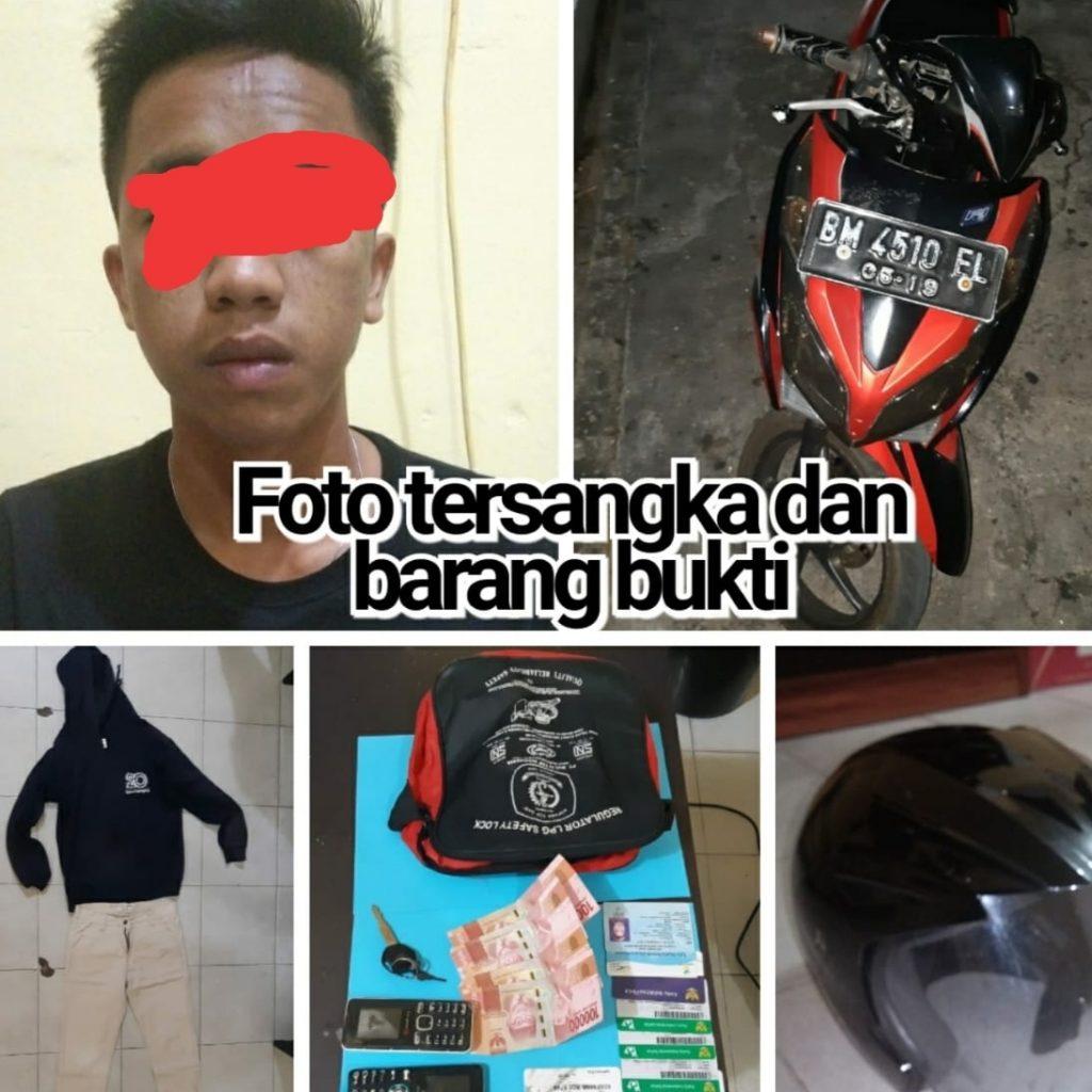 Polsek Tebingtinggi Tangkap Pemuda Diduga Lakukan Pencurian