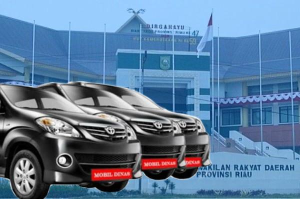 Wah, DPRD Riau Anggarkan Rp10,4 M untuk Mobdis