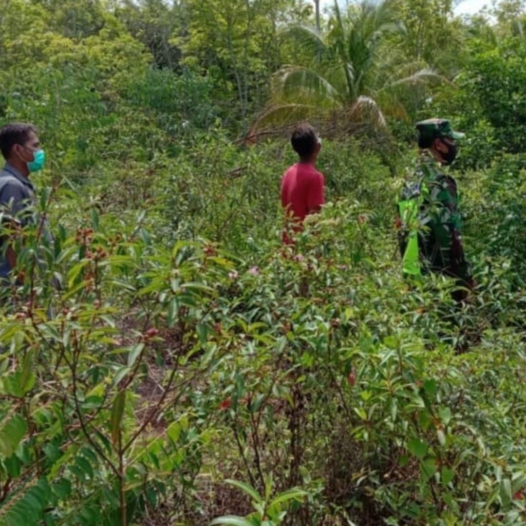 Serka Syafi'i : Peran Masyarakat Sangat Penting Dalam Menjaga Terjadinya Kebakaran Hutan dan Lahan