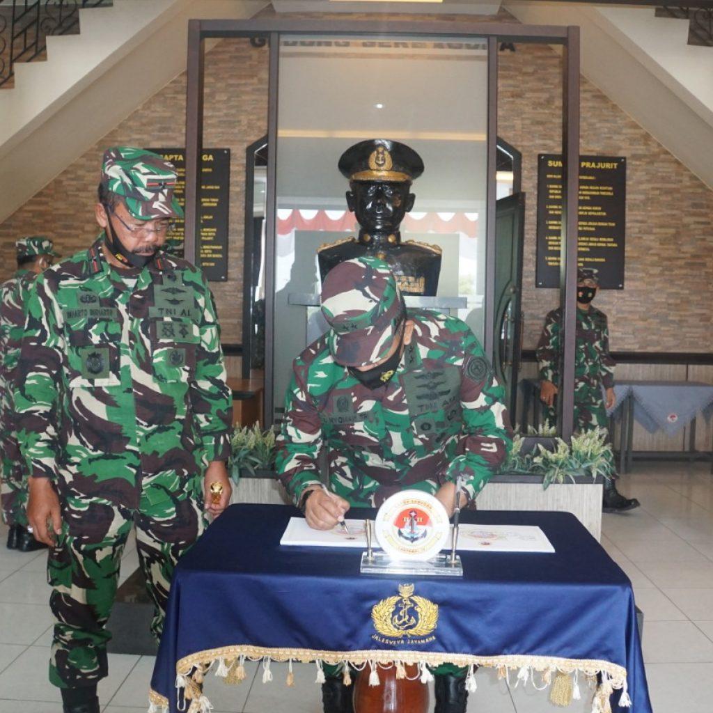 Danlantamal IV, Panglima TNI Kungker Sahli di Bidang Perhubungan