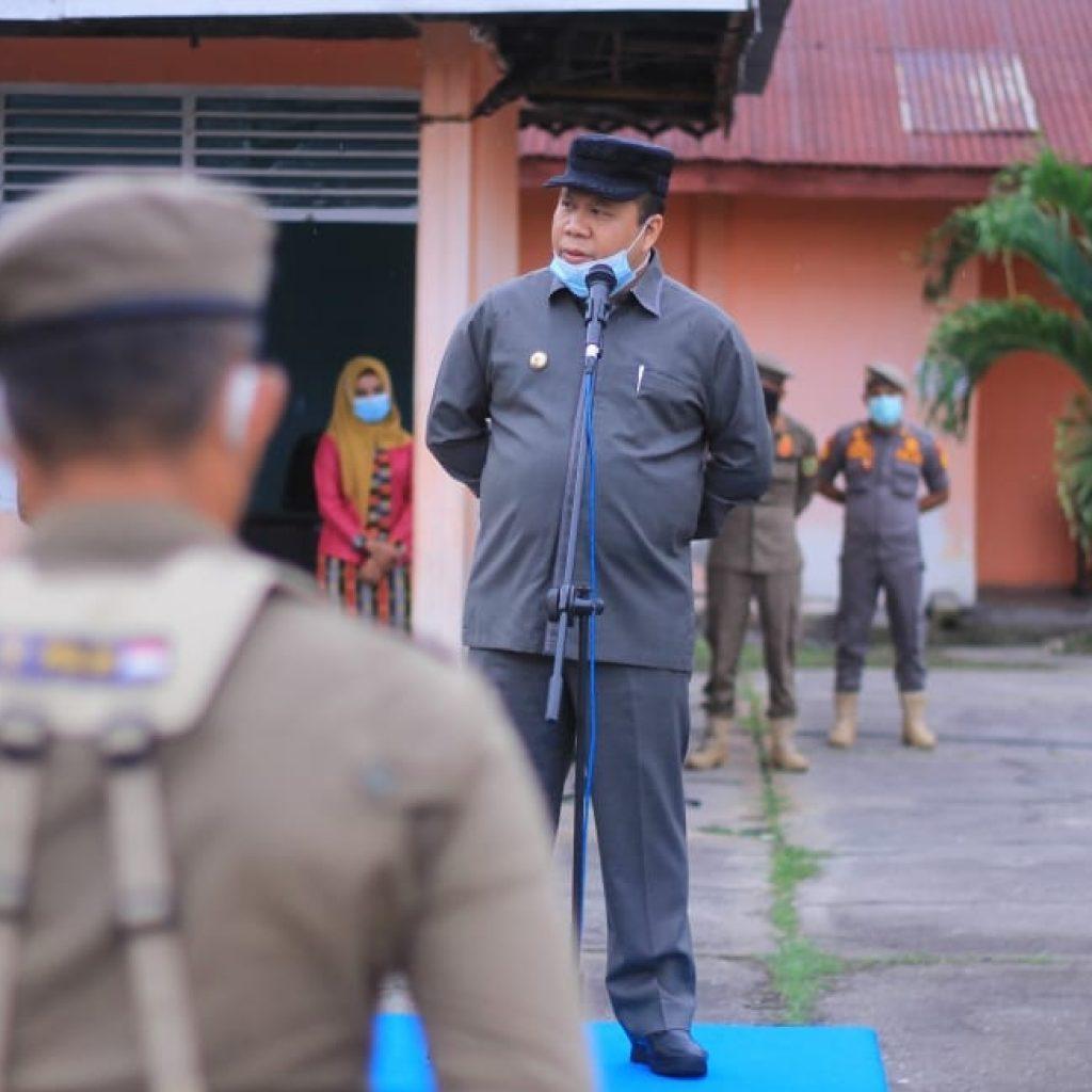 Bupati Irwan Instruksikan Satpol PP Tindak Penggelapan Pajak Daerah