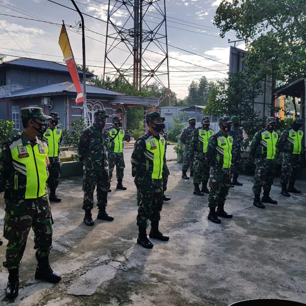 Bati Tuud Peltu Lakattang Pimpin Apel Siaga Pengamanan Pilkada Tahun 2020 Kabupaten Meranti