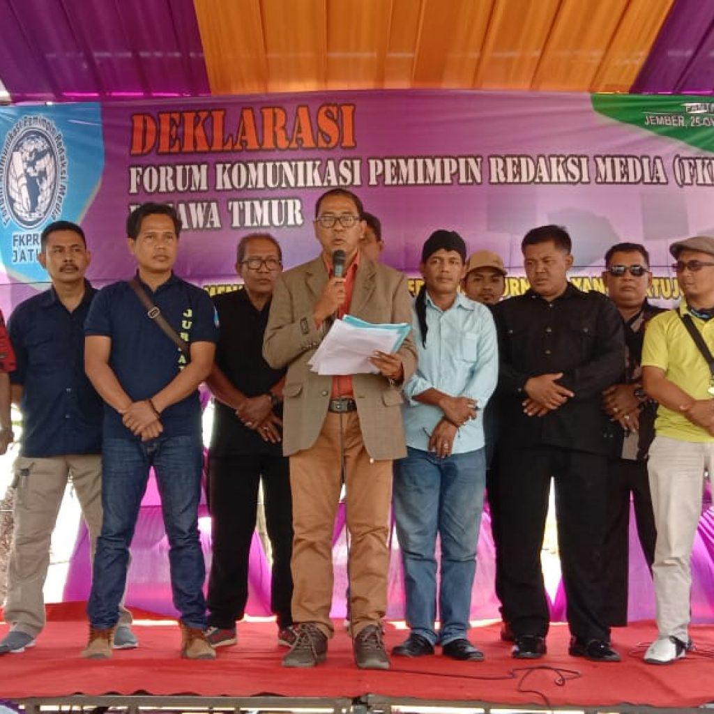 Komisi A DPRD Jatim  Hadiri Deklarasi FKPRM Di Jember